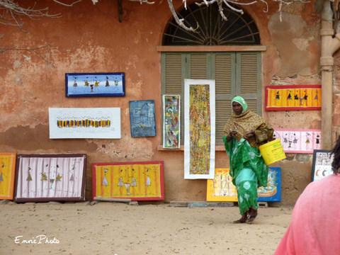 Marché de Gorée
