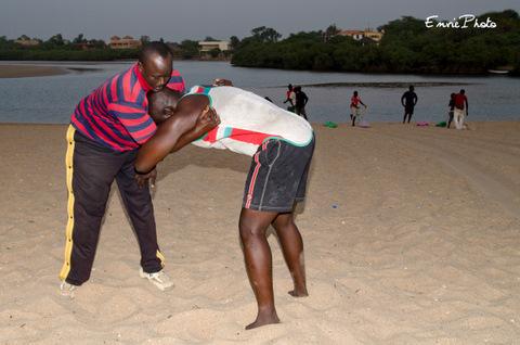 Lutteurs Sénégalais
